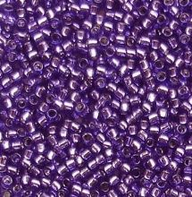 Toho 15/0 Seed Beads, Silver Lined Purple 2224 - 5 grams